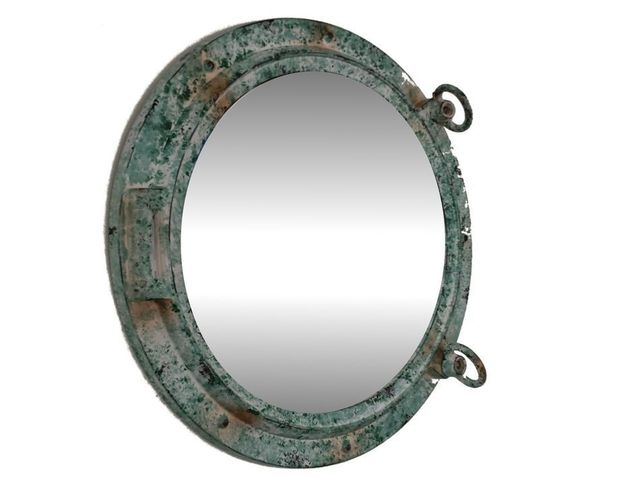 Titanic Shipwrecked Decorative Porthole Mirror 24
