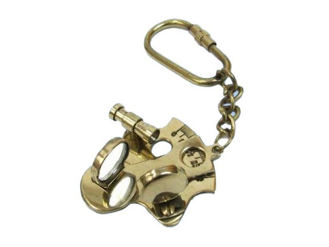 Brass Sextant Keychain 5