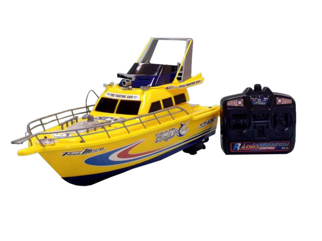 Ready To Run Remote Control Fire Fighting Model Speed Boat 25