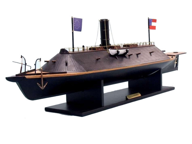 CSS Virginia Limited Model Ship 34