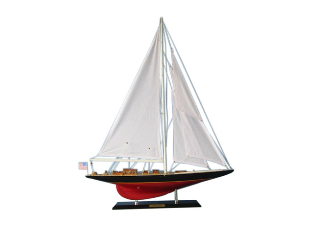 Wooden Freedom Limited Model Sailboat Decoration 35