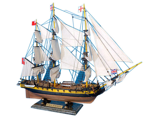 Master And Commander HMS Surprise Tall Model Ship 30