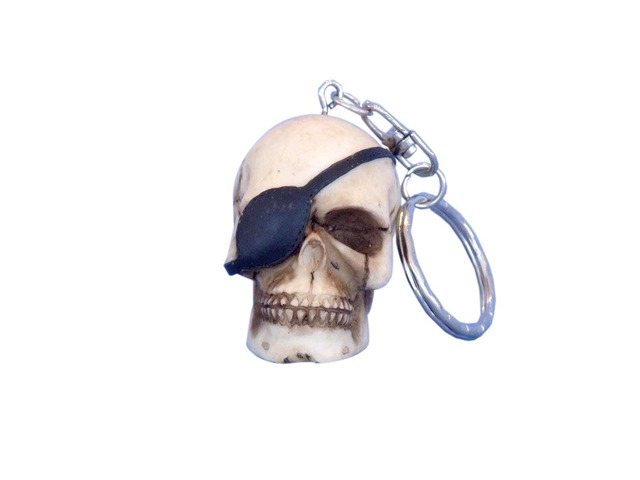 Pirate with Eye Patch Key Chain 5