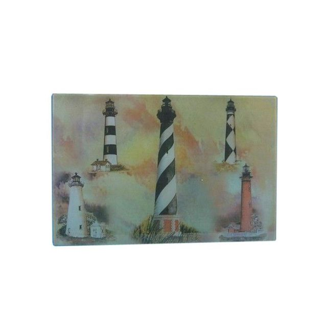Glass Lighthouse Cutting Board 18