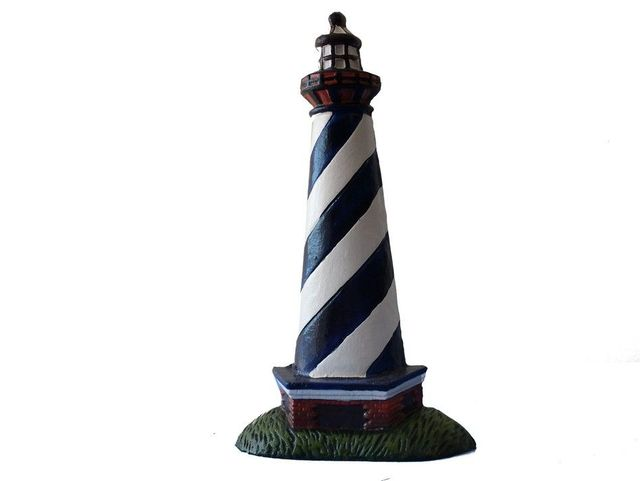 Cast Iron Lighthouse Door Stop 10