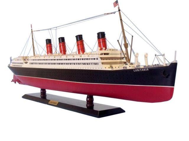 RMS Lusitania Limited Model Cruise Ship 40