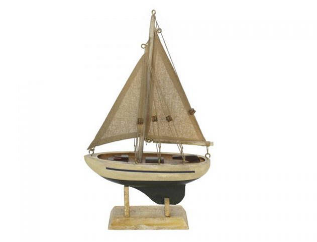 Wooden By The Sea Model Sailboat 9