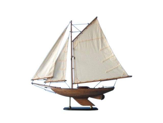 Wooden Lakeview Sloop Model Decoration 26