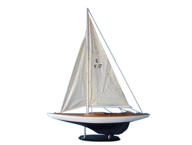 Wooden Blue Lake Dragon Keelboat 40