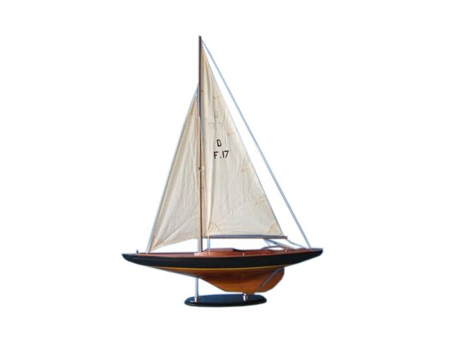 Wooden Sea Spirit Dragon Keelboat Decoration 40