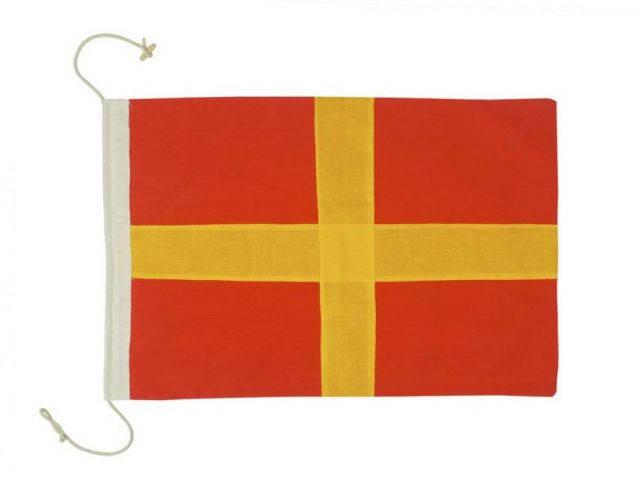 Letter R Cloth Nautical Alphabet Flag Decoration 20
