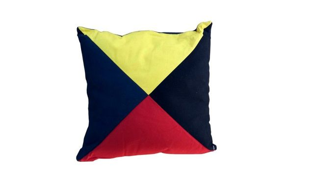 Letter Z Nautical Alphabet Pillow 15