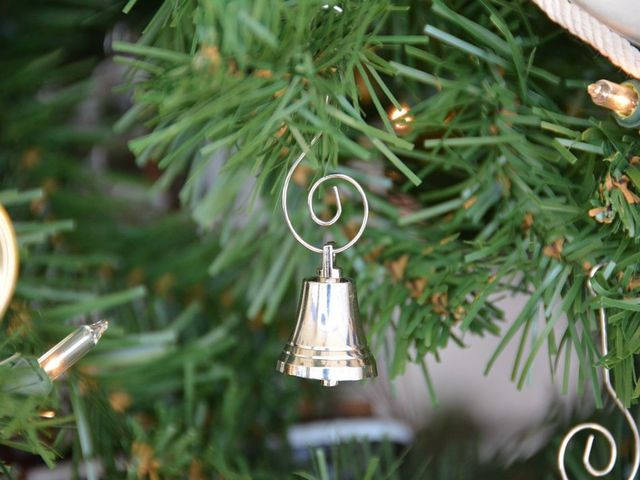 chrome bell christmas tree ornament - Nautical Christmas Decorations