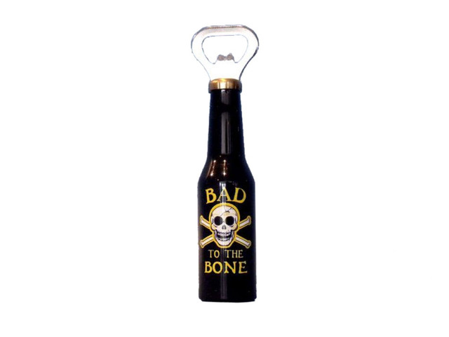 Bad To The Bone Magnet Bottle Opener 6