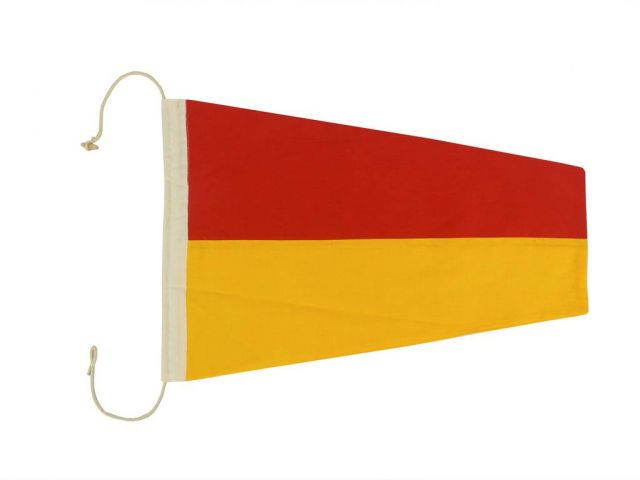 Number 7 - Nautical Cloth Signal Pennant Decoration 20