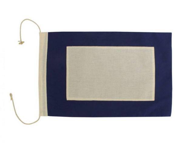 Letter P Cloth Nautical Alphabet Flag Decoration 20