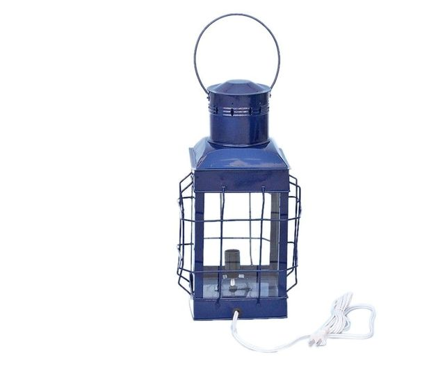 Iron Chiefs Electric Lamp 19 - Blue