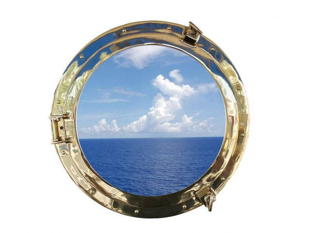 Brass Decorative Ship Porthole Window 20