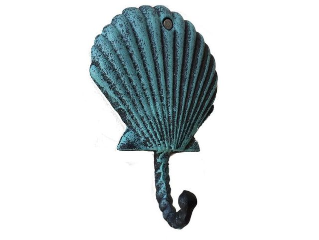 Seaworn Shell Key Hook 5