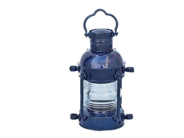 Iron Anchor Oil Lamp 15 - Dark Blue