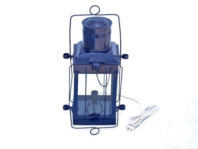 Iron Cargo Electric Lamp 18 - Dark Blue