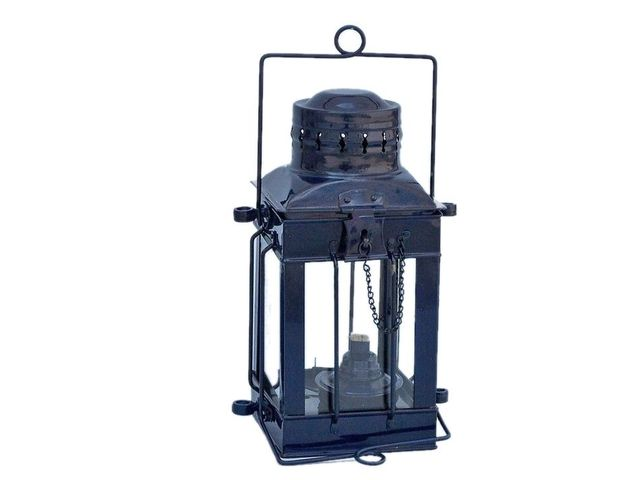 Iron Cargo Oil Lamp 11 - Dark Blue