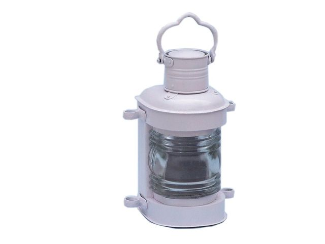 Iron Masthead Oil Lamp 14 - White