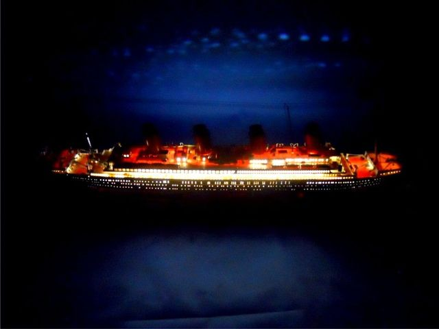 RMS Britannic Limited 30 w- LED Lights Model Cruise Ship