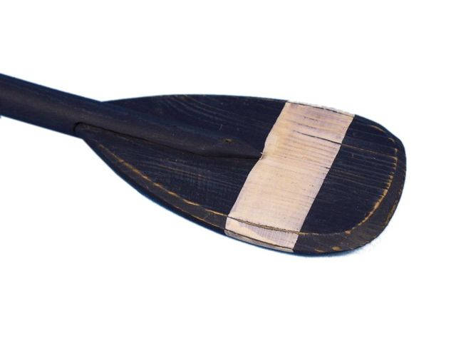 Wooden Pembrook Decorative Rowing Boat Paddle with Hooks 24