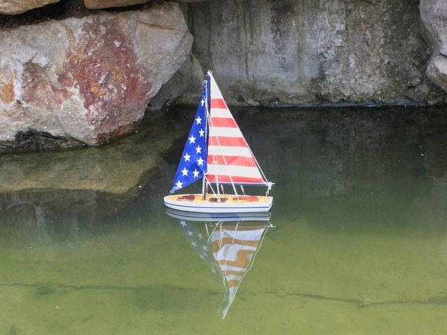 It Floats 12 - USA Floating Sailboat