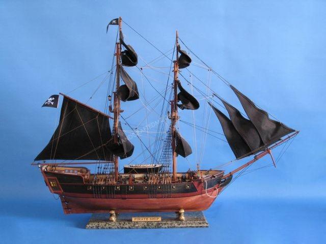 Caribbean Pirate Ship Limited 37 - Black Sails
