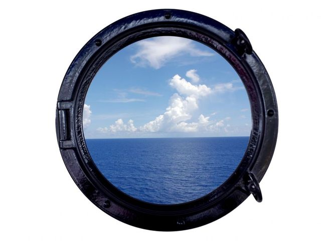 Black Decorative Ship Porthole Window 15