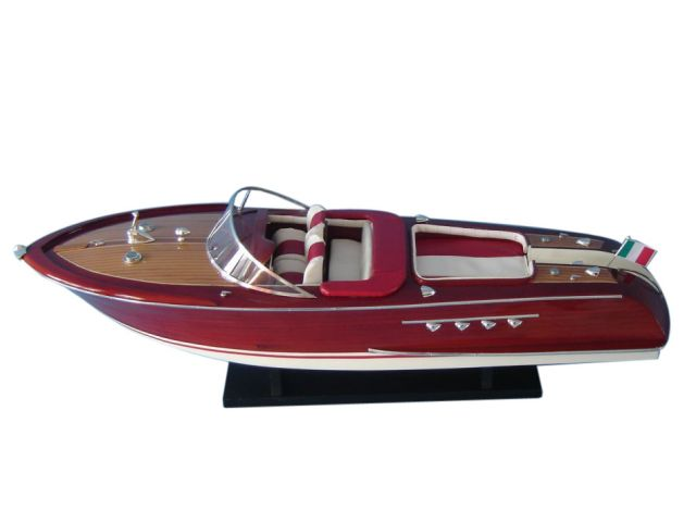 Wooden Riva Aquarama Limited Model Speed Boat 32