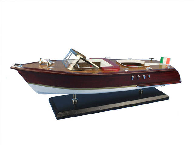 Wooden Riva Aquarama Model Speed Boat 20