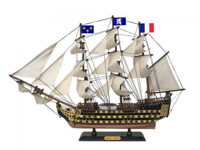 Royal Louis Wooden Tall Ship Model 24