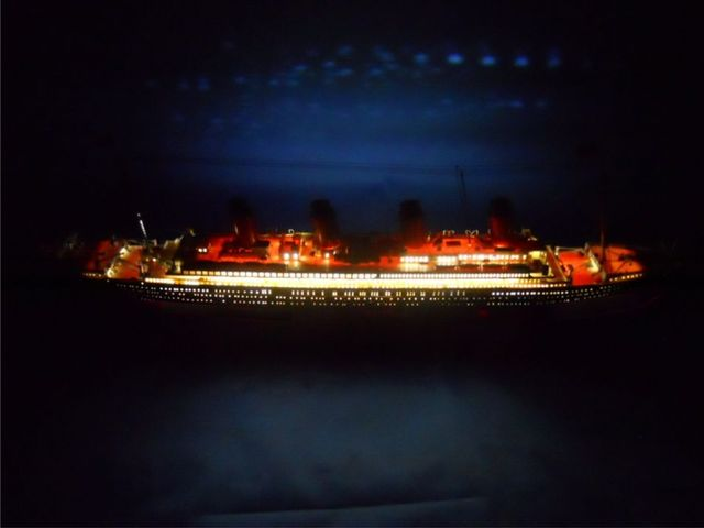 RMS Titanic Limited 30 w- LED Lights Model Cruise Ship