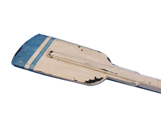 Wooden Huxley Decorative Squared Rowing Boat Oar 50