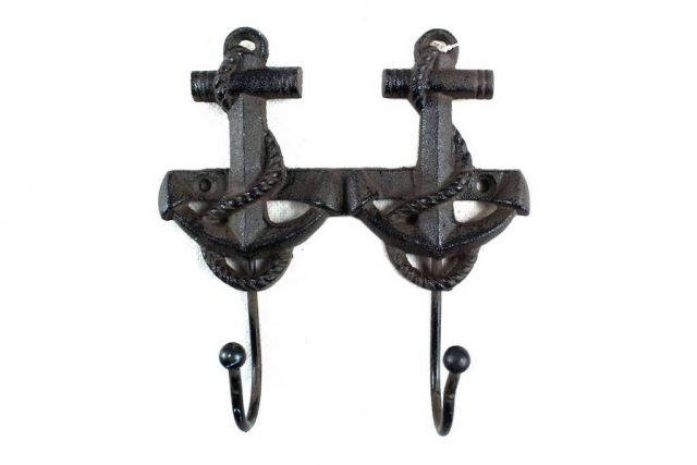 Cast Iron Decorative Anchor Hooks 7