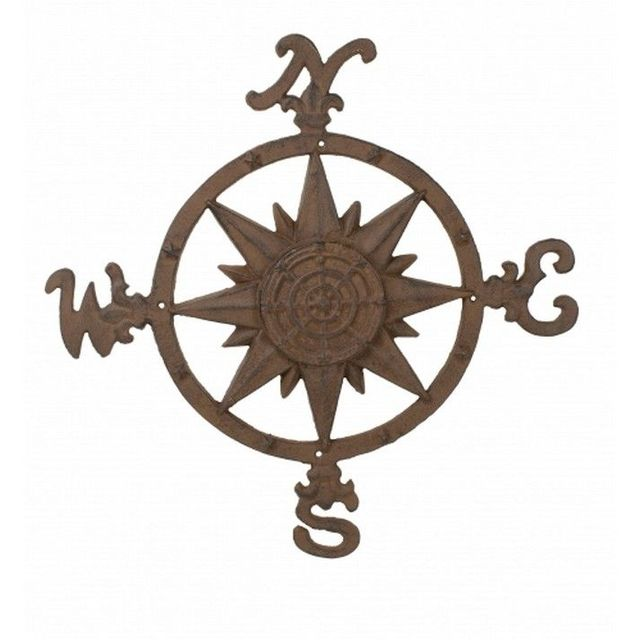 Rustic Cast Iron Compass Rose 20