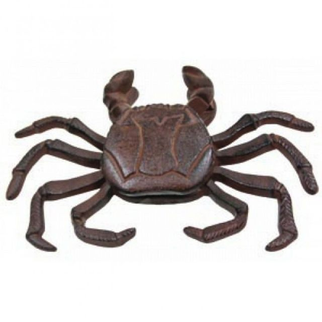 Rustic Iron Crab Door Knocker 10