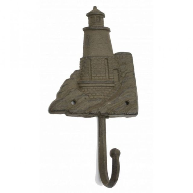 Rustic Iron Lighthouse Key Hook 10