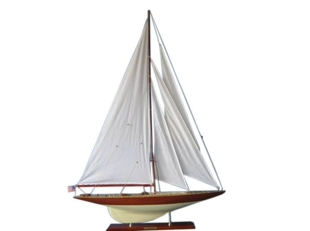 Wooden Lionheart Limited Model Sailboat Decoration 50