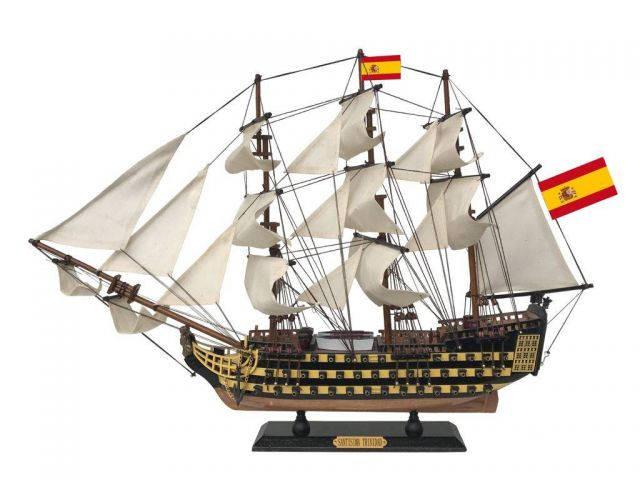 Santisima Trinidad Tall Ship Model 24