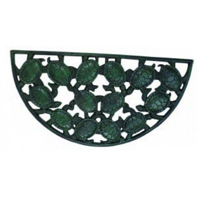 Seaworn Cast Iron Turtle Doormat 25