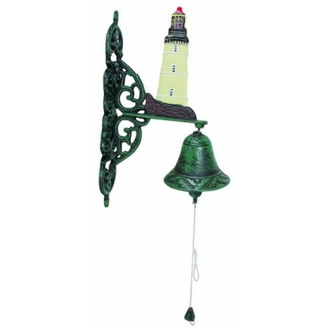 Seaworn Cast Iron Lighthouse Bell 10