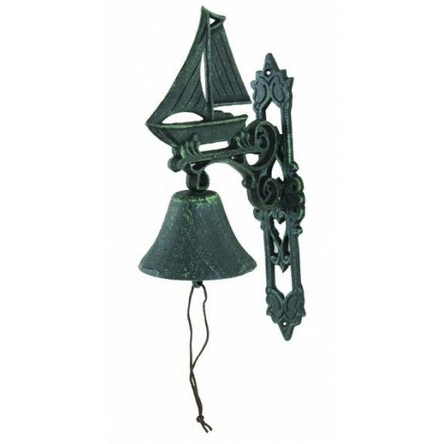Seaworn Cast Iron Sailboat Bell 13