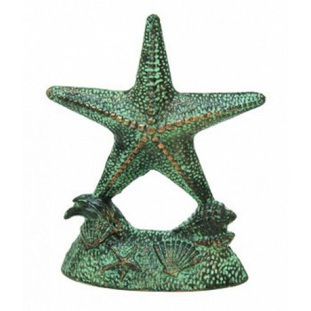 Seaworn Cast Iron Starfish Door Stop 9