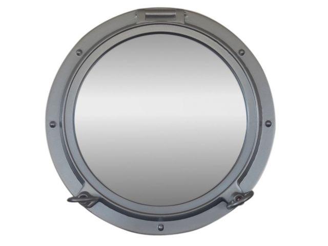 Silver Decorative Ship Porthole Mirror 15