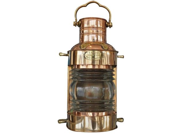 Copper Lookout Oil Lamp 14