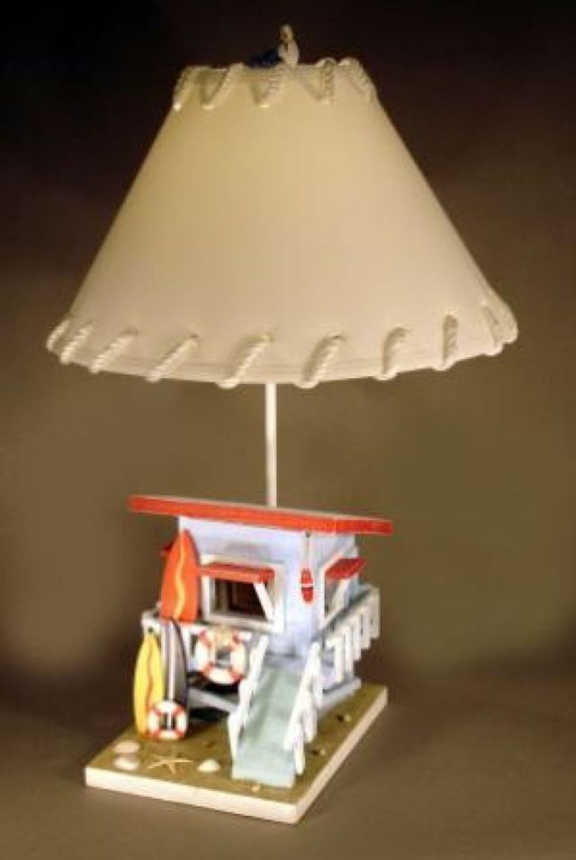 Surf Shack Electric Lamp 27
